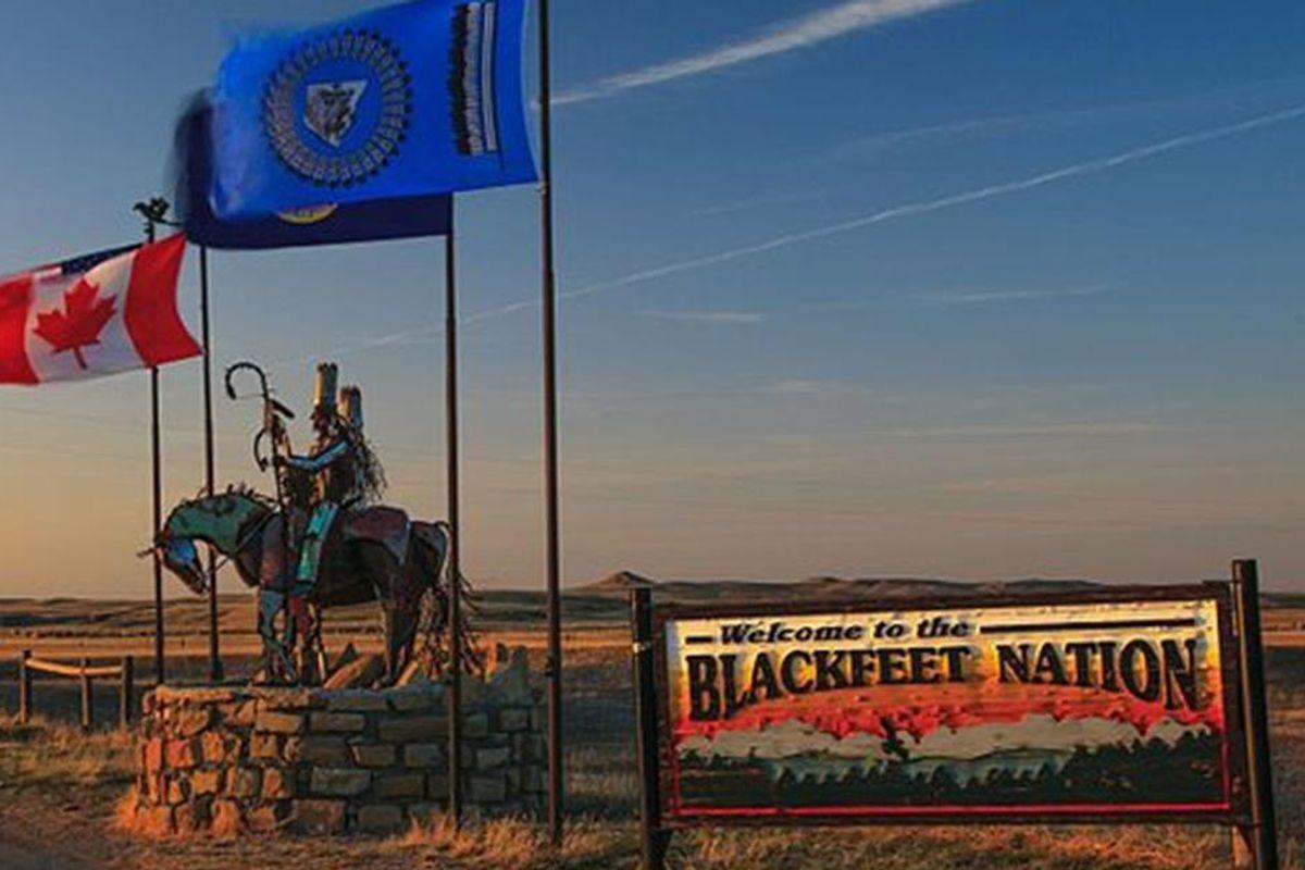 Montana's Blackfeet Tribe has gifted hundreds of COVID vaccines to its Canadian neighbors