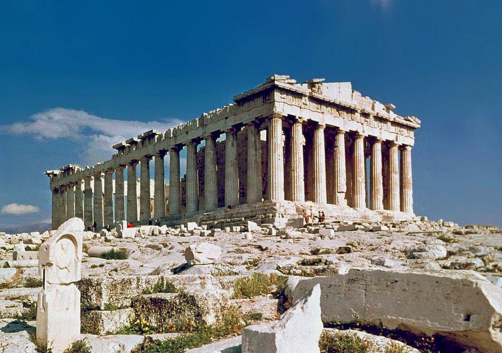 The Parthenon in Athens -  Euclid