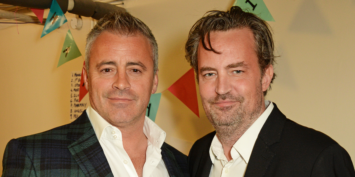 Matthew Perry Breaks Down in Tears While Filming 'Friends' Reunion