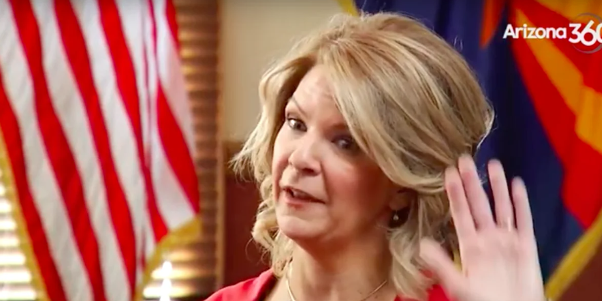 Chemtrail Kelli Ward Gonna Arrest Maricopa County Board, That's What She's Gonna Do