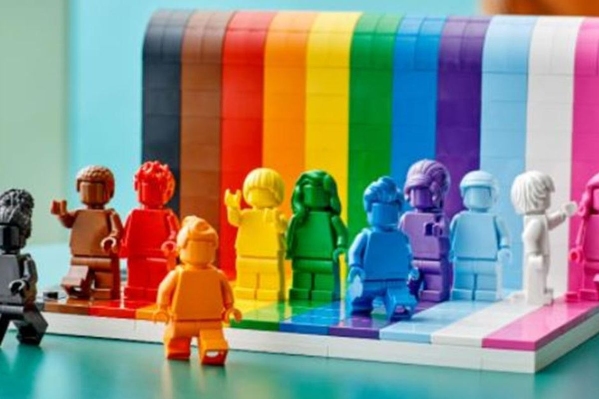 'Everyone is Awesome': Lego is celebrating Pride month with its first LGBTQIA+ themed set