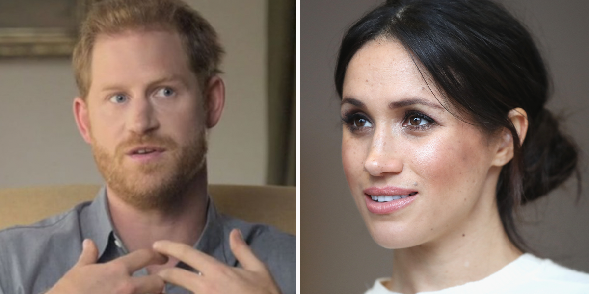 Prince Harry Woke To Find Meghan Crying Into Her Pillow Before Oprah Chat Aired