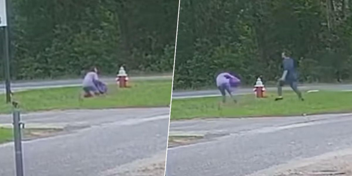 Video Shows the Moment 11-Year-Old Girl Escapes Abduction Attempt at Bus Stop