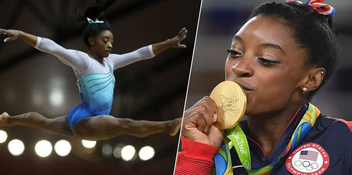 Simone Biles Nails Vault so Dangerous No Woman Has Ever Tried It in Competition Before