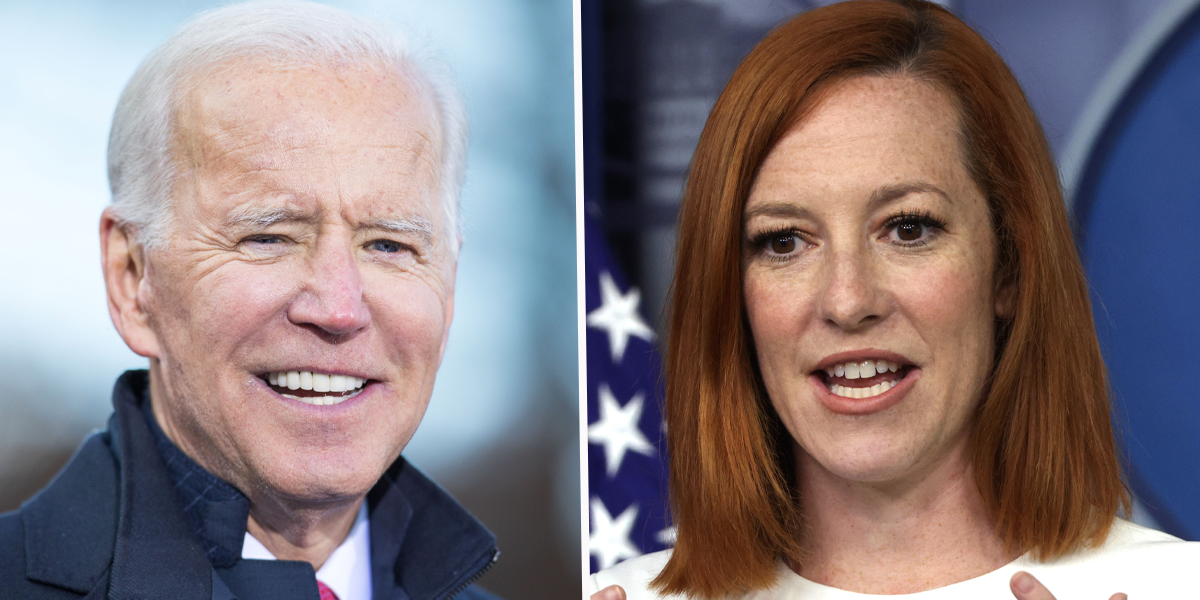 Jen Psaki Says Biden Is so Fit That She Has Trouble Keeping up With Him