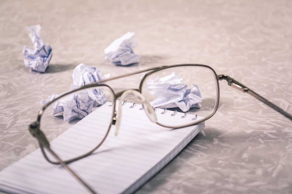 Monologue On Narrative: To Overcome Writer's Block, I Must Become Writer's Block