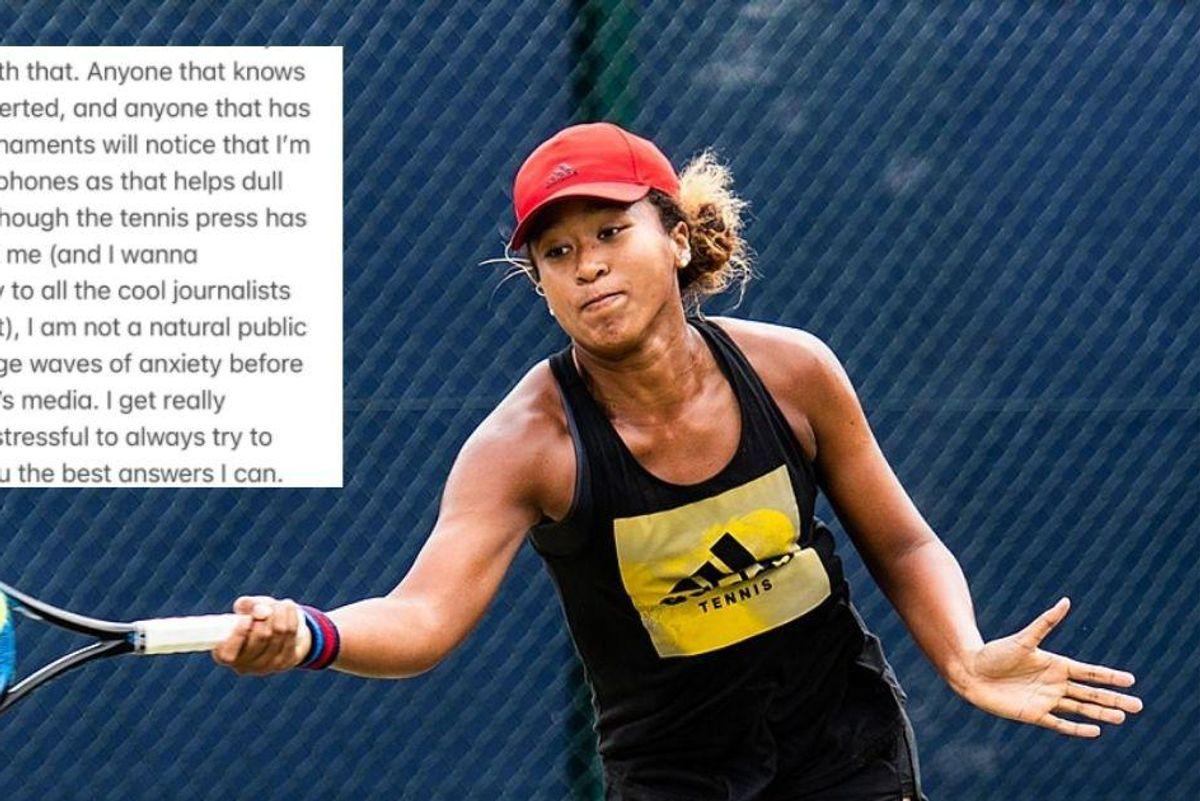 After raising a child who has an anxiety disorder, I admire Naomi Osaka's self-advocacy