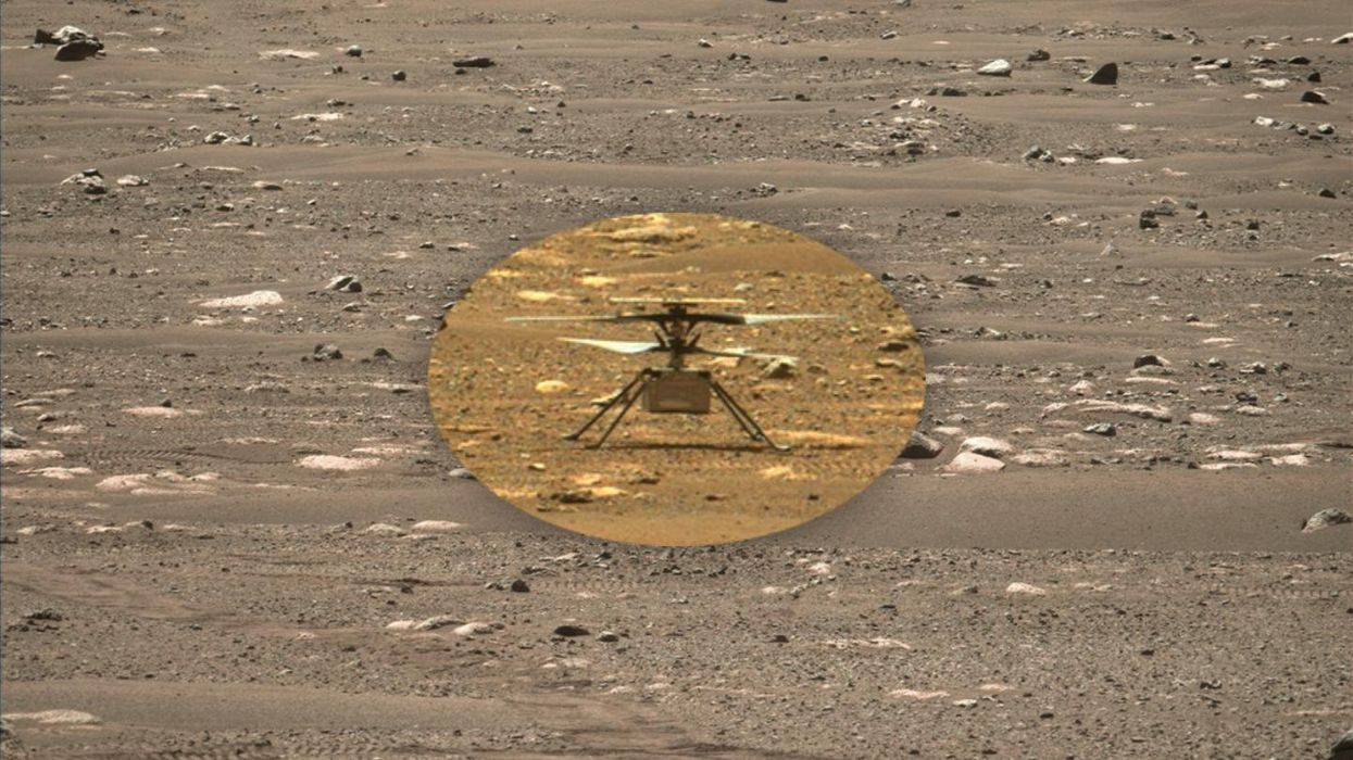 The Mars helicopter's scary sixth mission