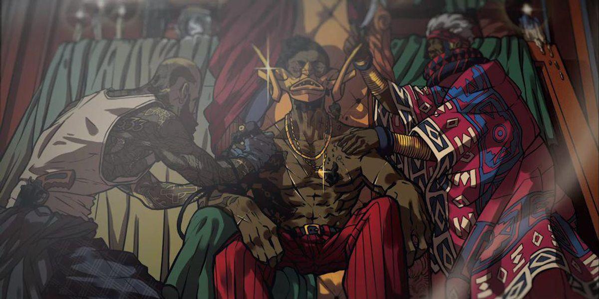 <div>YouTuber Menzi Mzimela Shares His Upcoming Dark Graphic Novel 'Mount Olympus'</div>