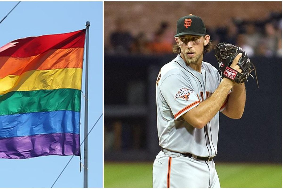 The San Francisco Giants make history by revealing the first MLB Pride Month jerseys
