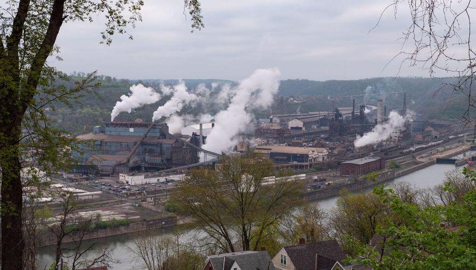 US Steel clairton coke works