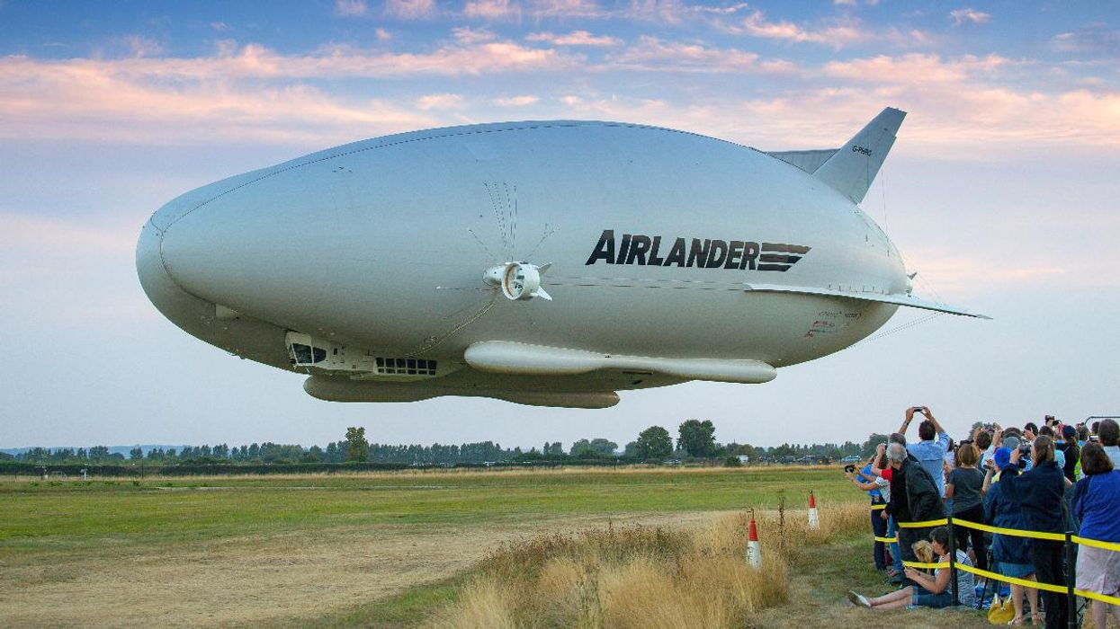 The Future of Flying? Airships Could Cut Carbon Emissions by 90%