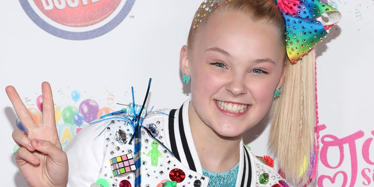 Jojo Siwa Throws Pride Party at Her Home