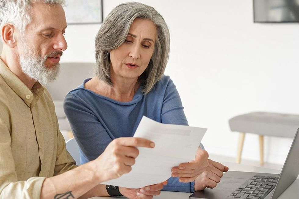 Older couple scared of retirement