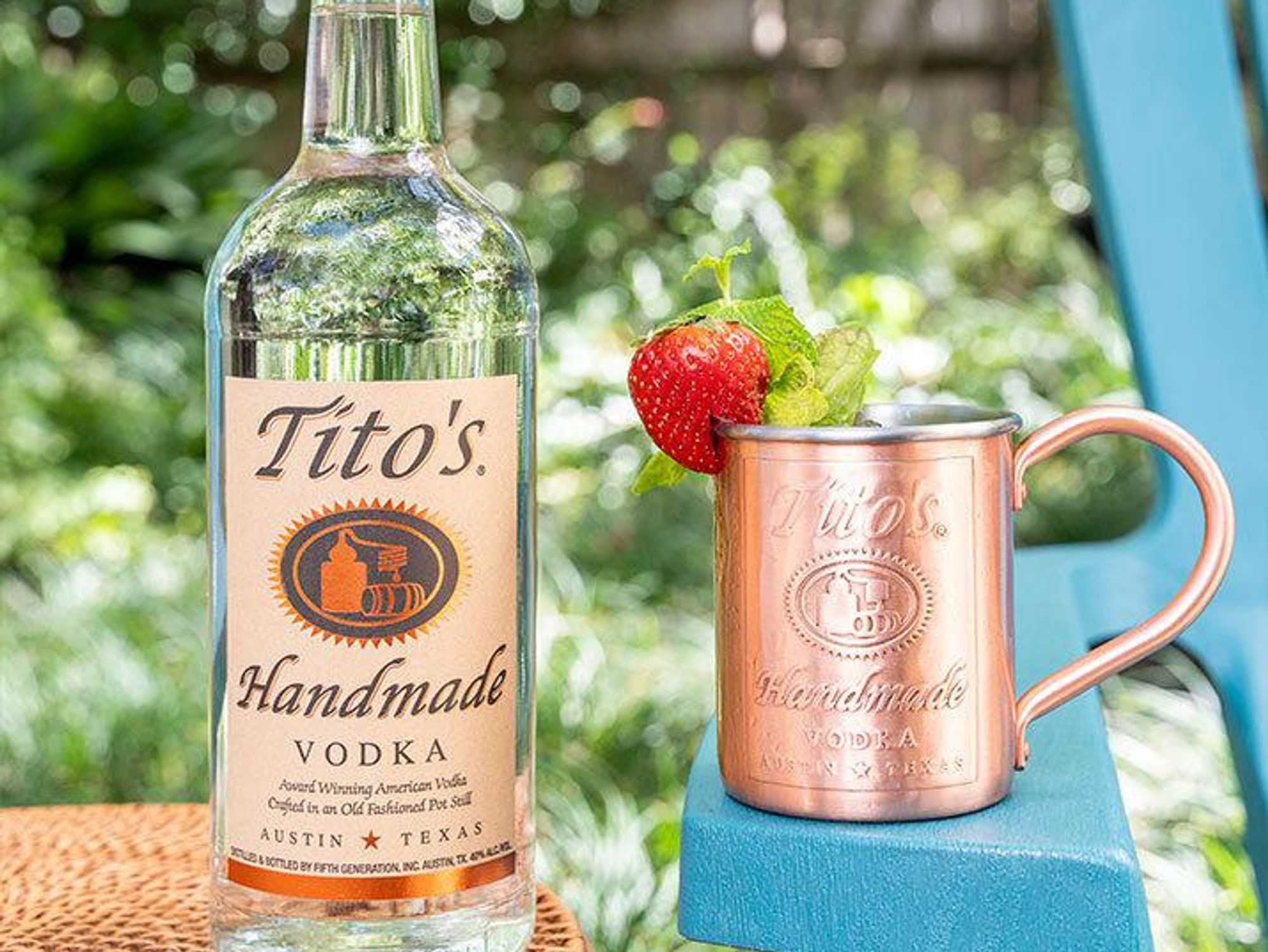 Drink of the Week: Tito's Summer Mule