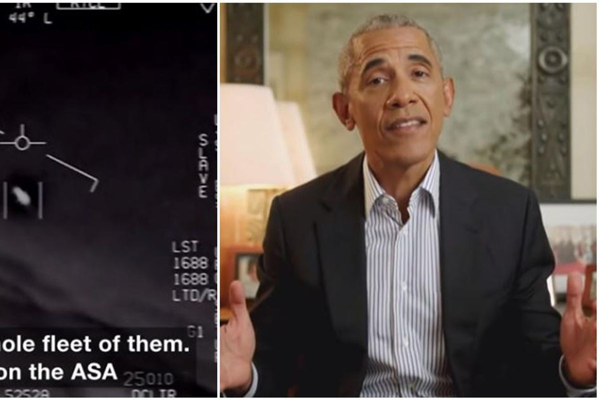 Barack Obama explains how society will change if/when we learn that aliens exist