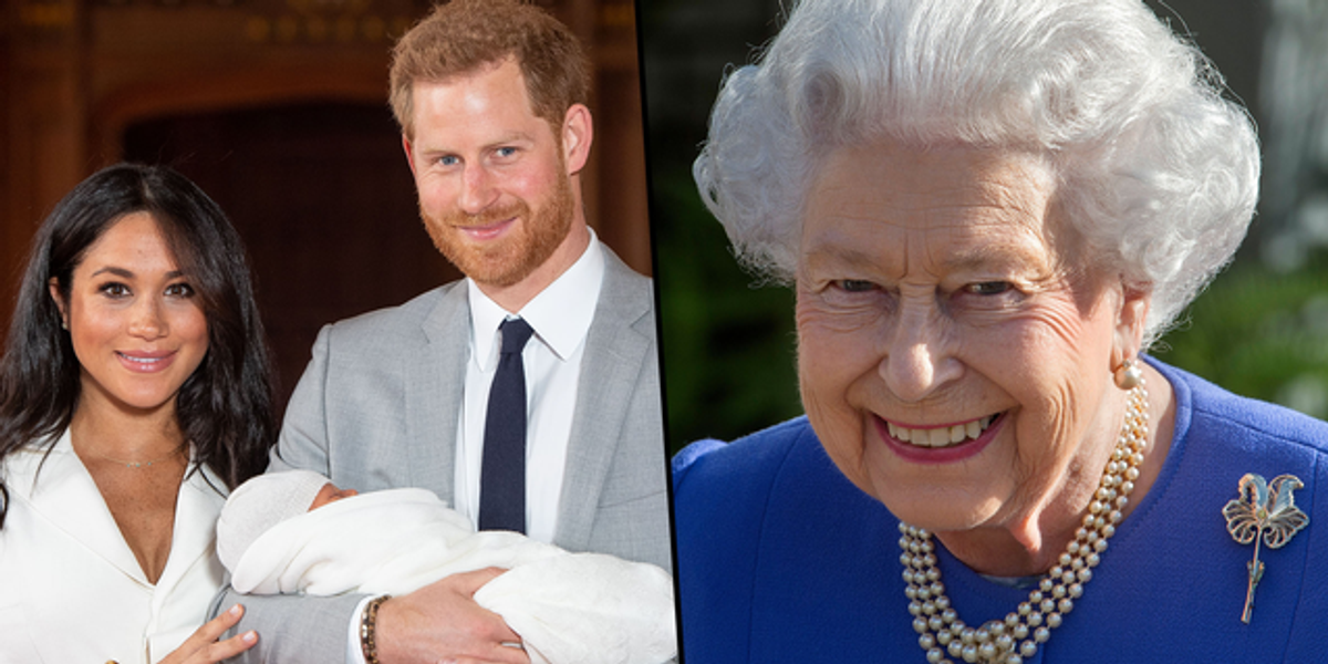 Archie and New Sister 'Could Make Buckingham Palace Balcony Debut for Queen's Jubilee'