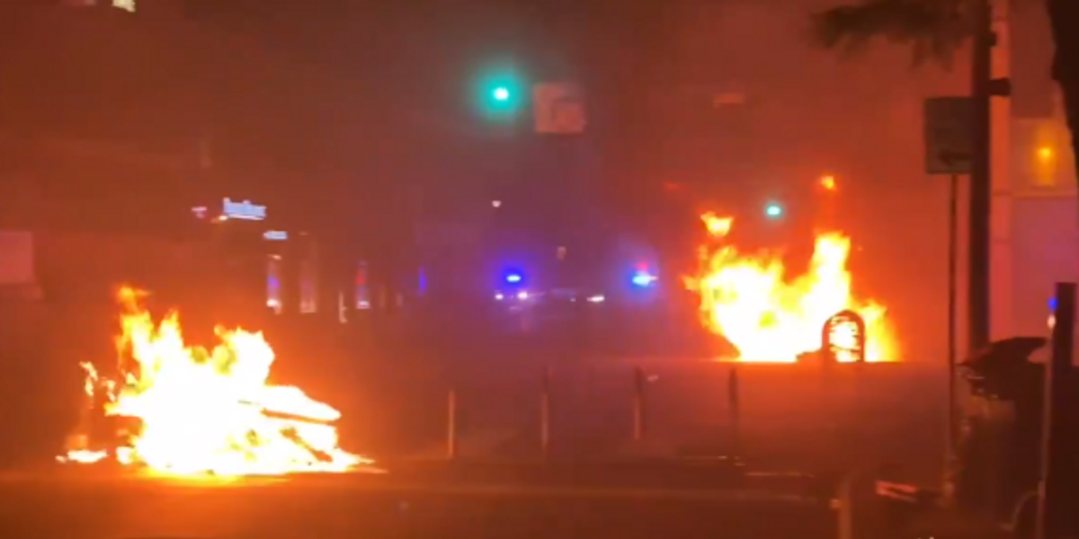 Fiery protests erupt in Minneapolis for third night after man was killed in police shooting: 'Time for the police to get killed'