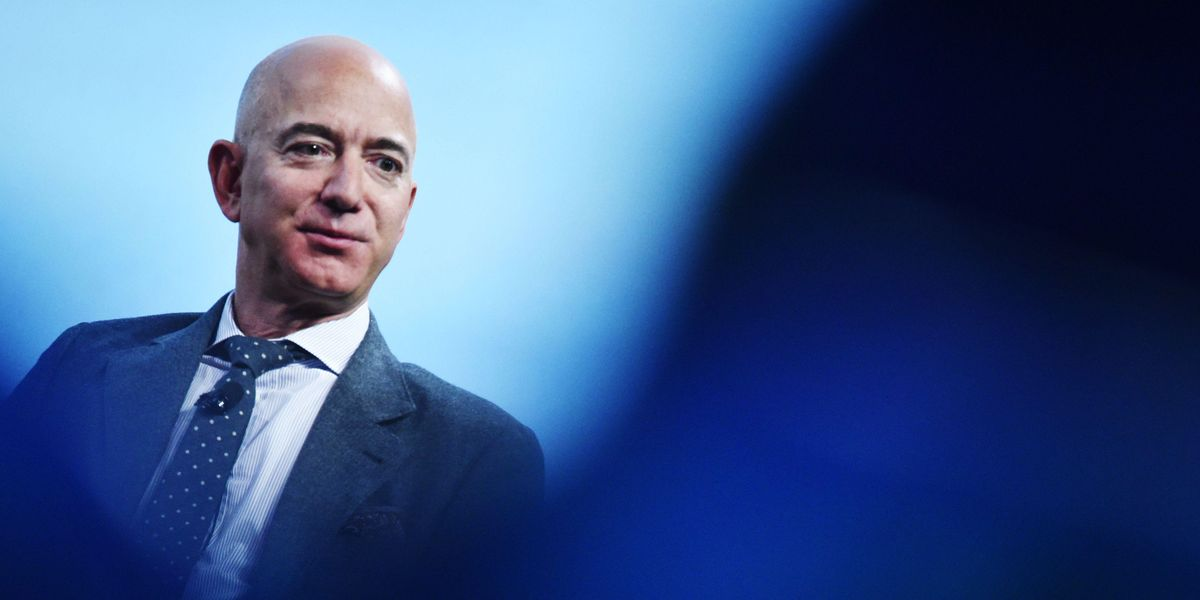 Of Course Jeff Bezos Is Vacationing in Space