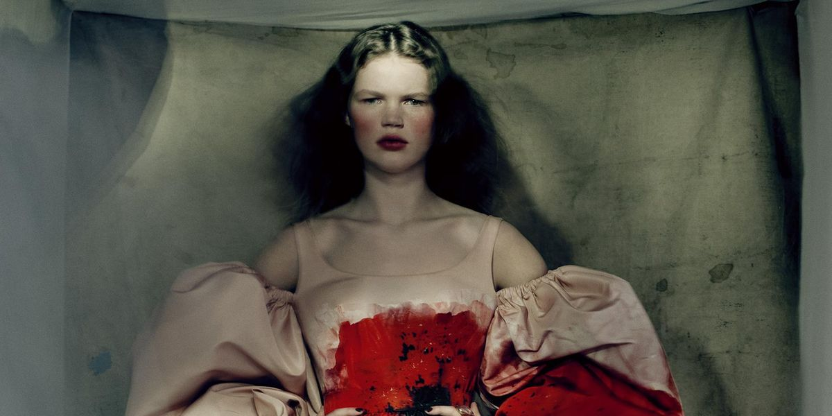 Alexander McQueen Reunites With Paolo Roversi for 'Anemones' Collection
