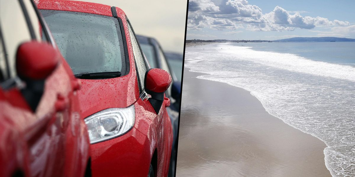 People Can't Agree Whether This Optical Illusion Is a Beach or a Car Door