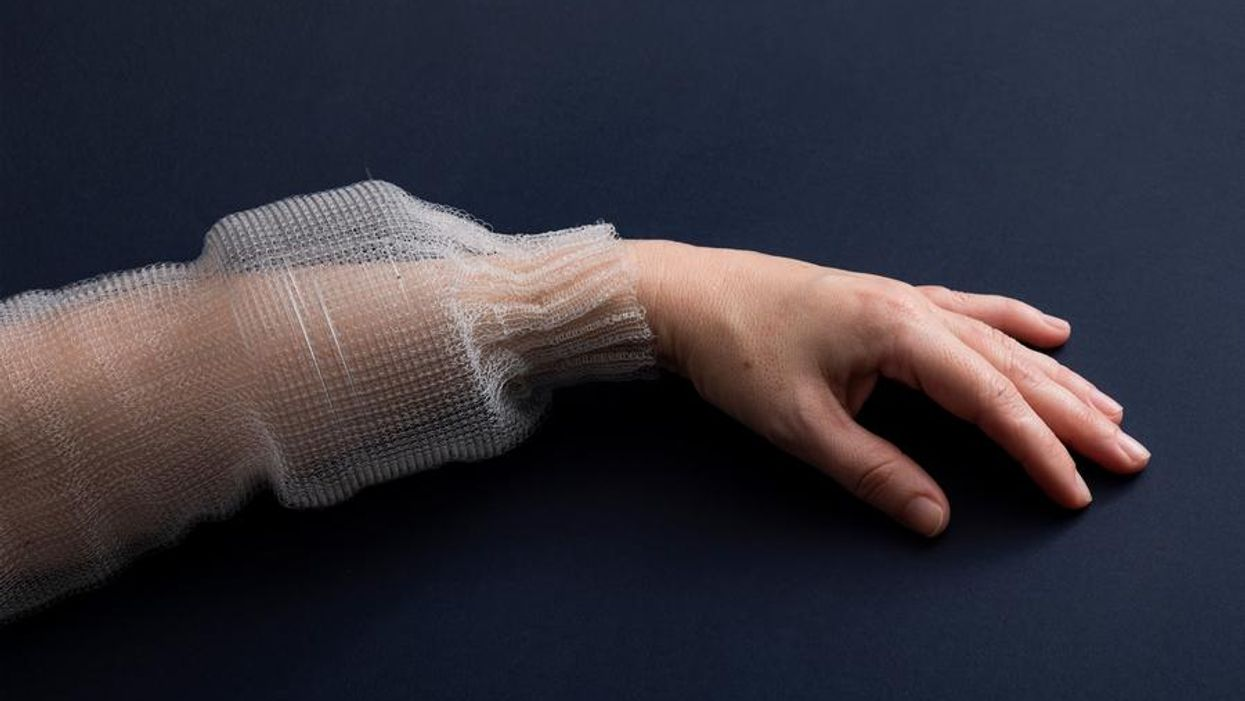 MIT creates a programmable fiber that can be made into clothing.