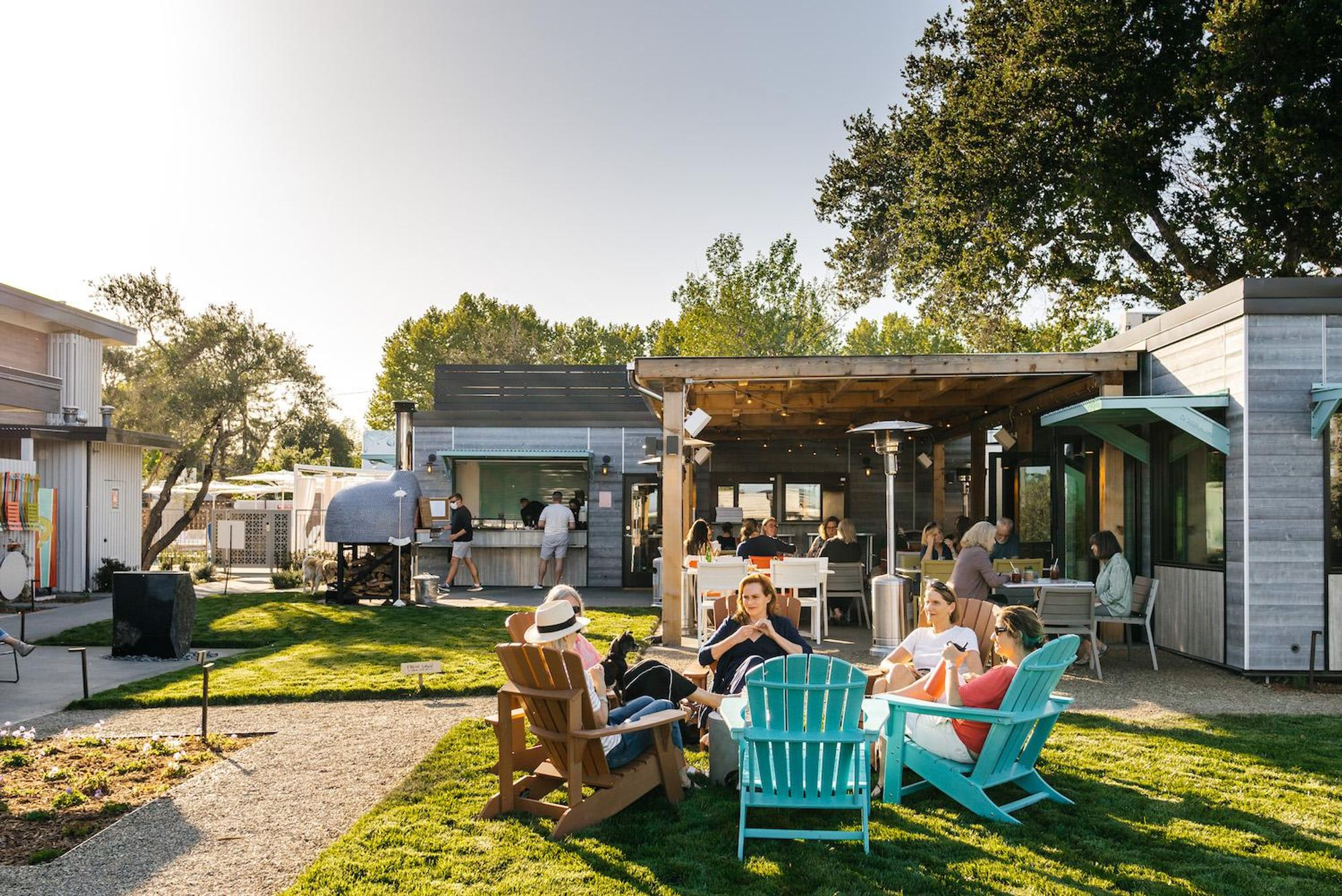 In Calistoga, Dr. Wilkinson's Backyard Resort gets a fresh, camp-chic makeover
