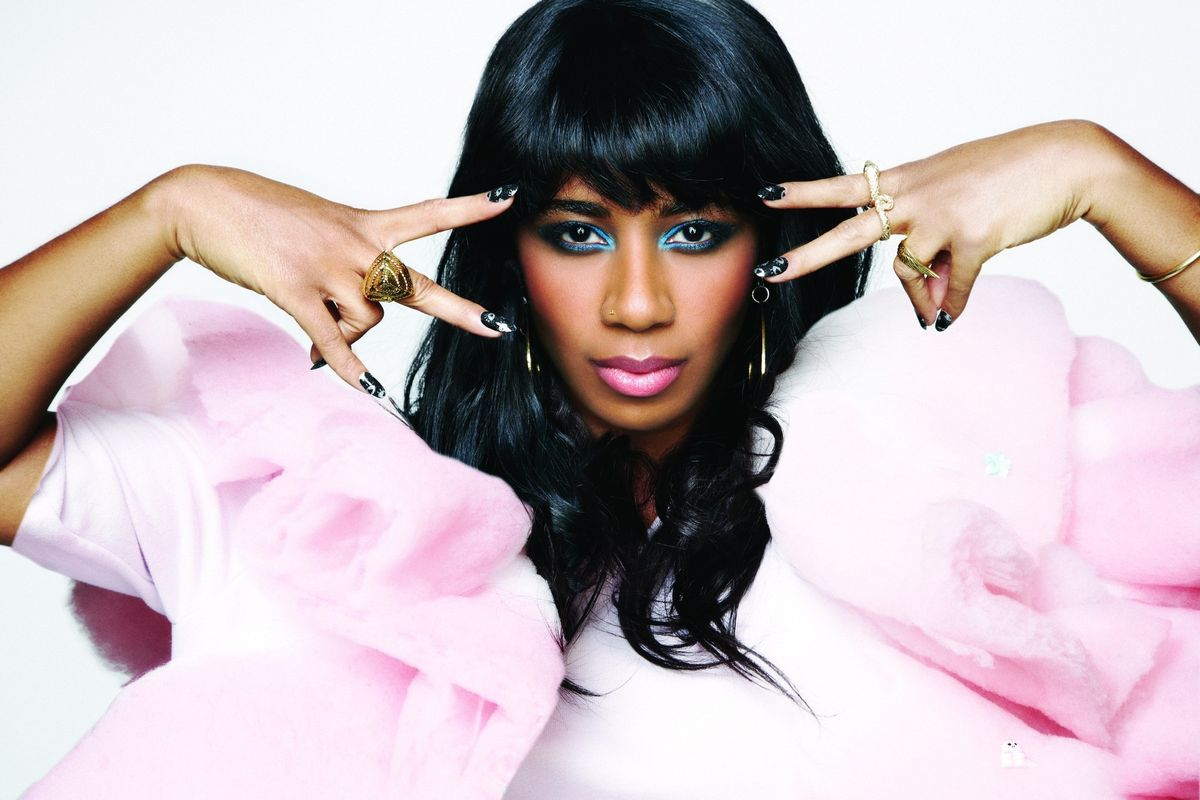 """Santigold Gifts Us The Jaunty """"Can't Get Enough Of Myself"""""""