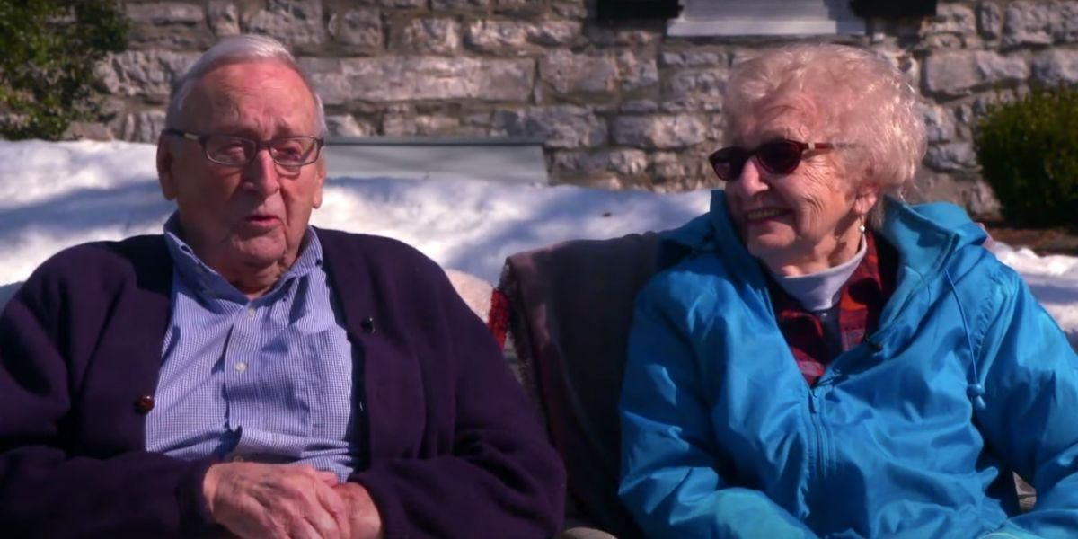 Both twice-widowed, two 95-year-olds found a new chance at love in 2021