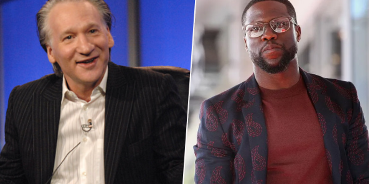 Bill Maher Slams Kevin Hart for Saying 'White Power and White Privilege Is at an All Time High'