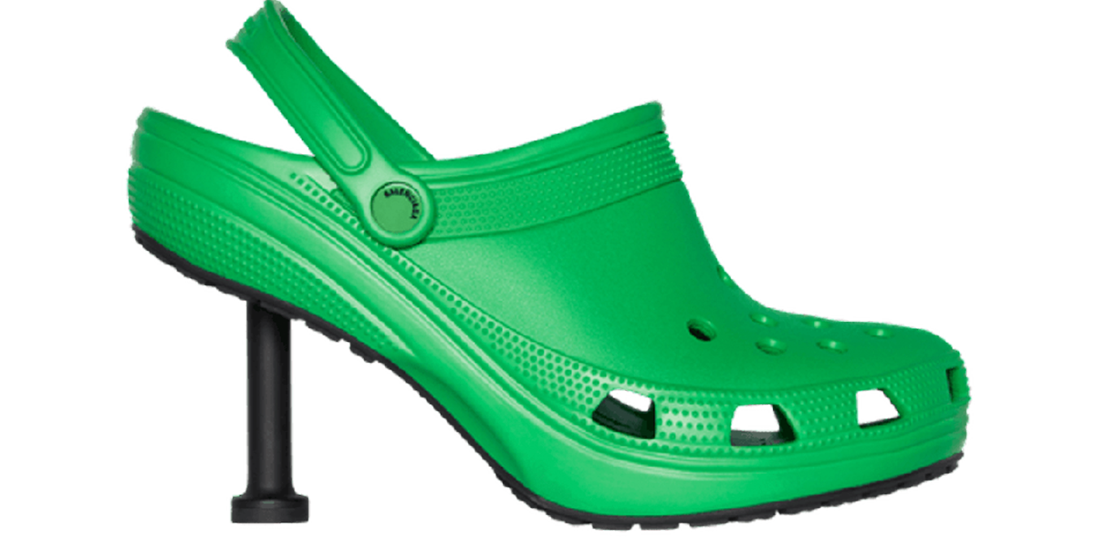 Balenciaga Release Crocs Stillettos and It's Fair To Say People Are Confused