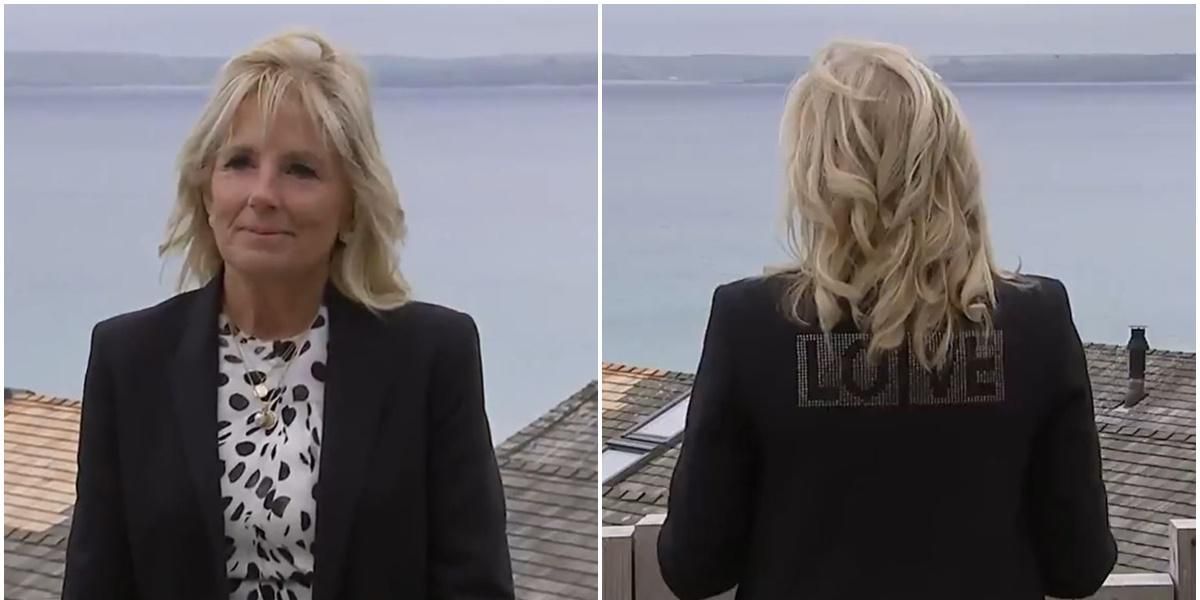Jill Biden explains why she wore a 'LOVE' jacket during first European visit as First Lady