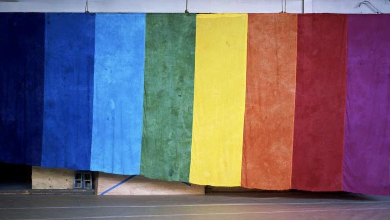 The first-ever Pride flag is on view in San Francisco + more good news around the Bay Area