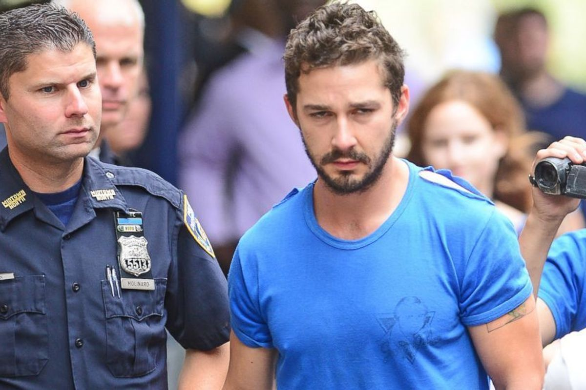 Shia LaBeouf Talks Ramen Egg Salad, All The Times He's Been Arrested