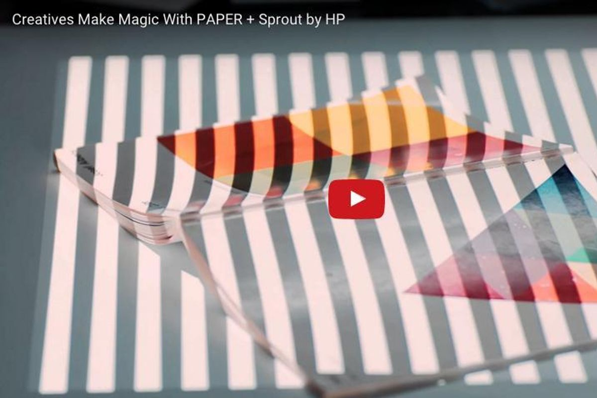 6 Creatives Make Magic with PAPER + Sprout by HP