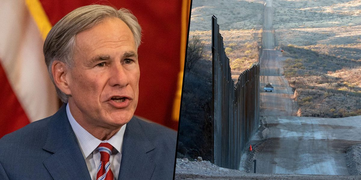 Texas Announces Plan To Build Its Own Wall at the US-Mexico Border