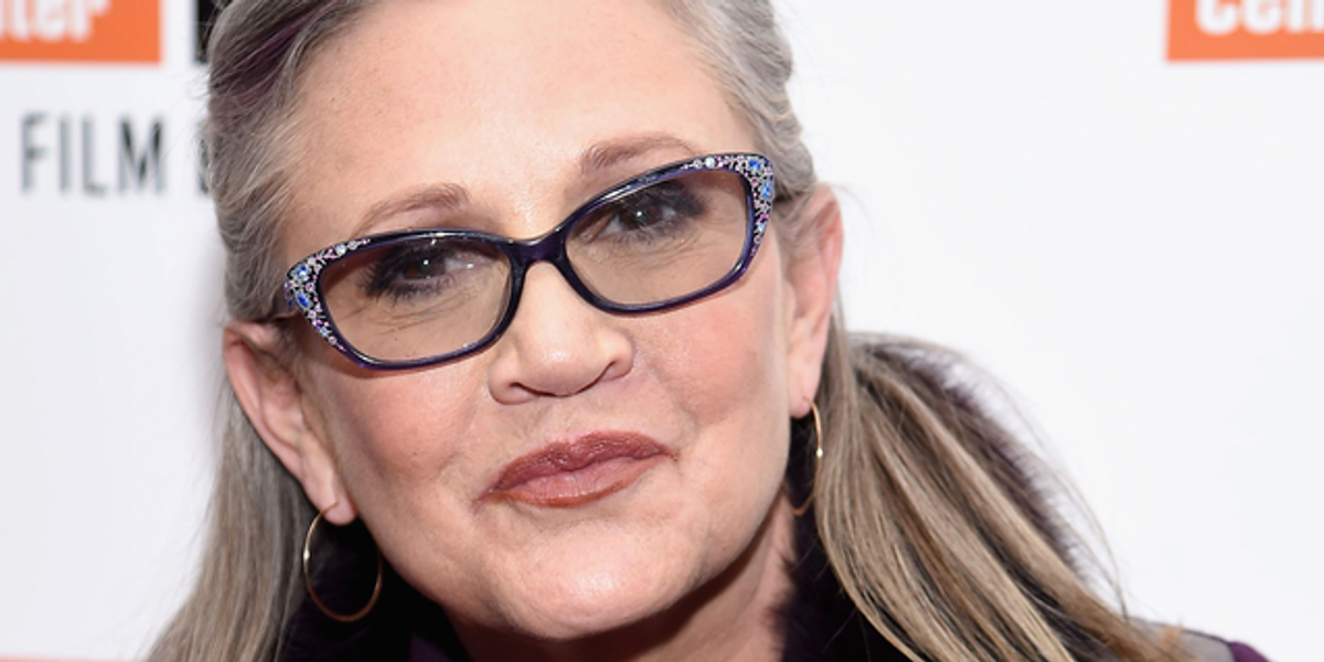 Carrie Fisher To Receive Hollywood Walk of Fame Star