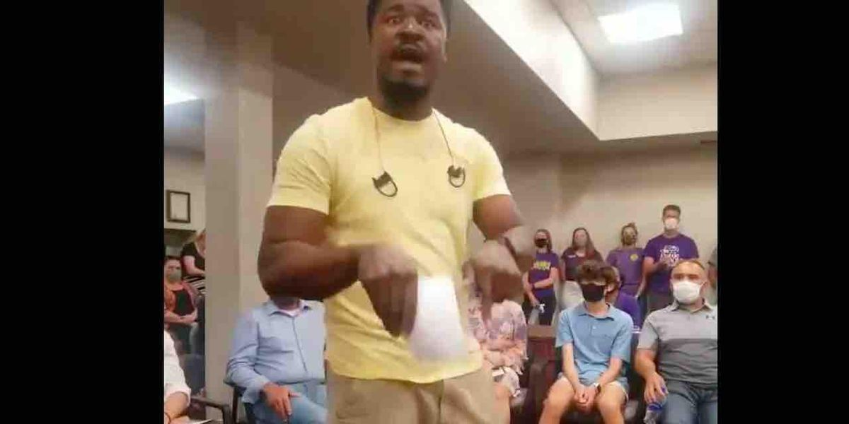 Black father destroys critical race theory at school board meeting: 'How did I get where I am right now if some white man kept me down?'