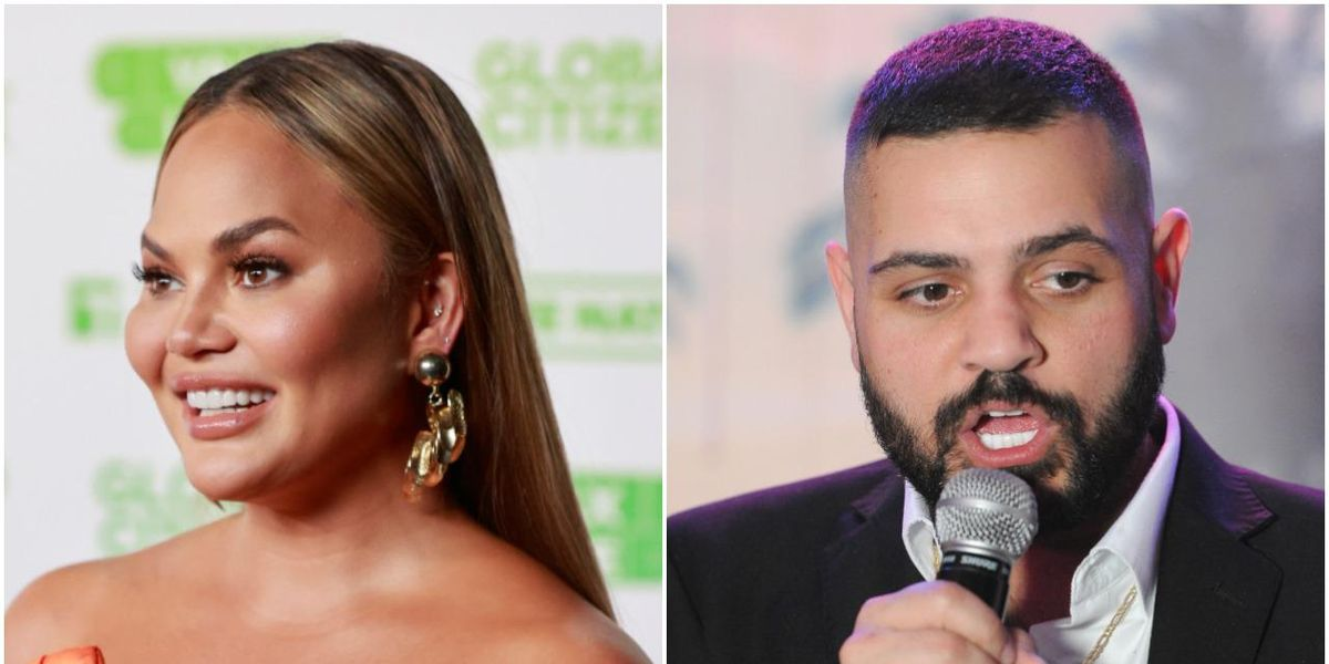 Chrissy Teigen, Michael Costello Argue Over Bullying Claims