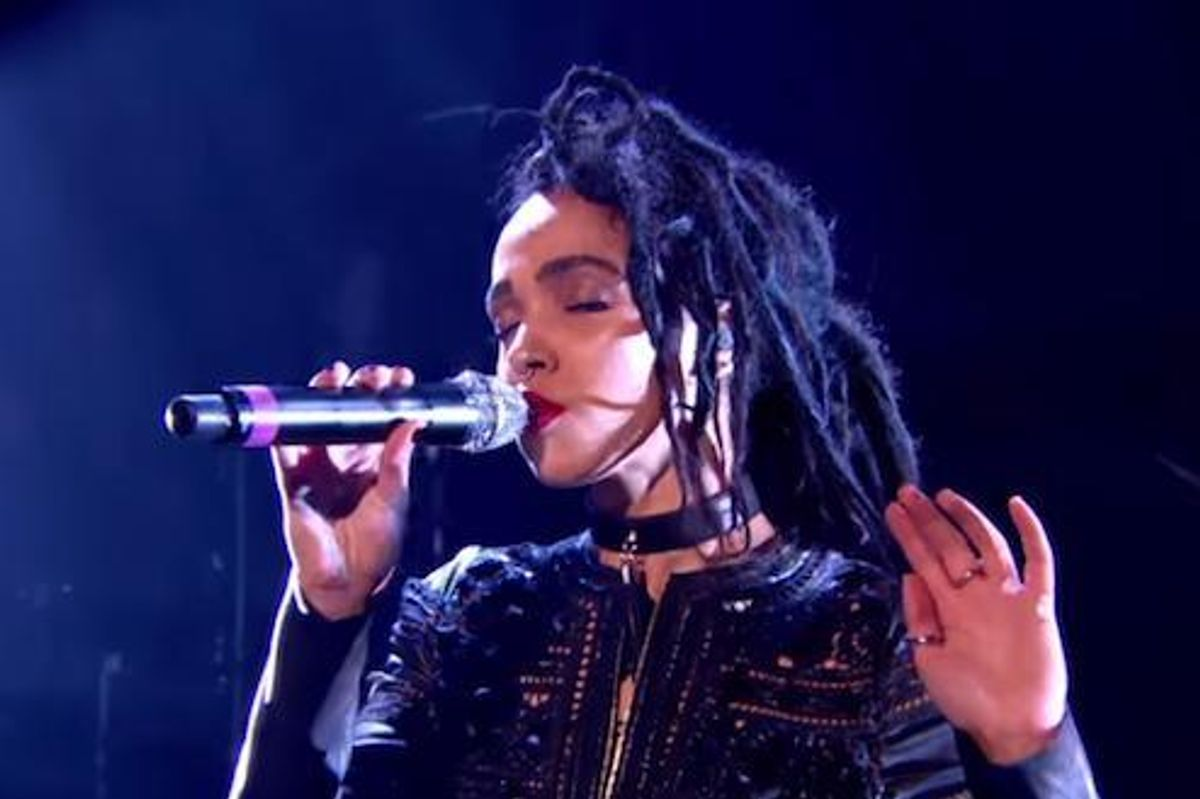 Watch FKA Twigs' Ferocious Performance At the MOBO Awards