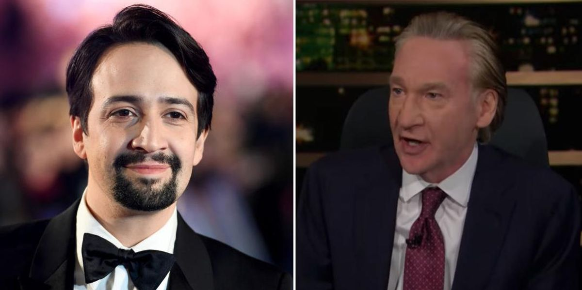 Bill Maher blasts Lin-Manuel Miranda for bending knee to woke mob: 'This is why people hate Democrats'