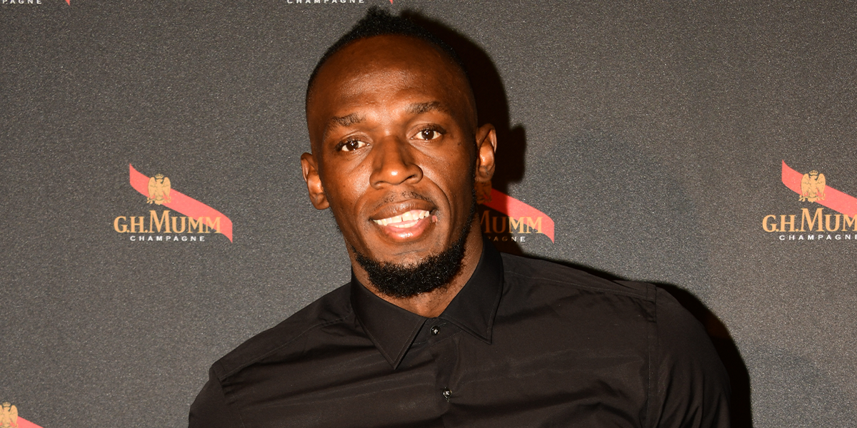 Usain Bolt and Girlfriend Secretly Welcome Twins