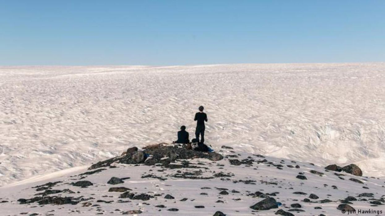 Researchers in Greenland found alarming amounts of dissolved mercury in glaciers.