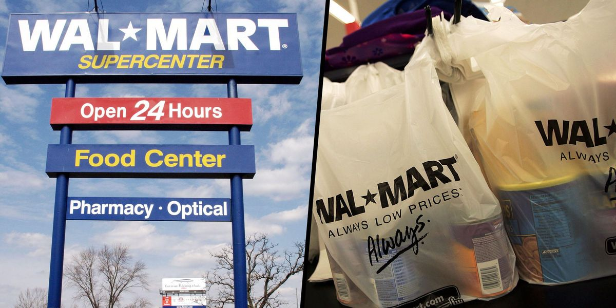Walmart Is Going To Remove Plastic Shopping Bags From All Their Stores