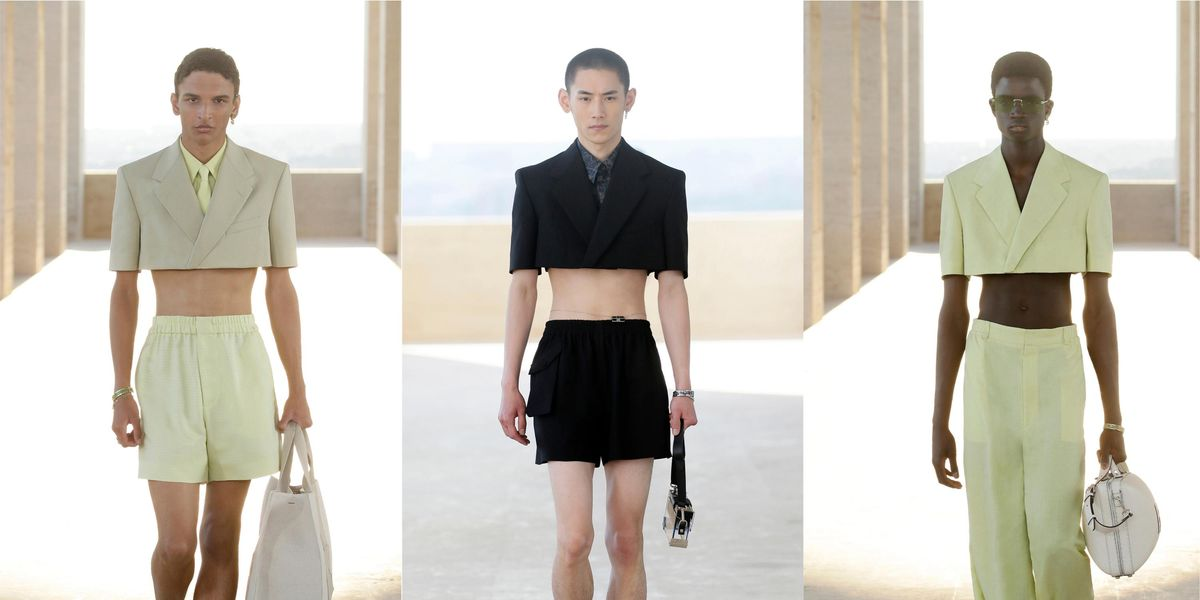 I've Never Wanted Abs More After Seeing Fendi's Cropped Jackets