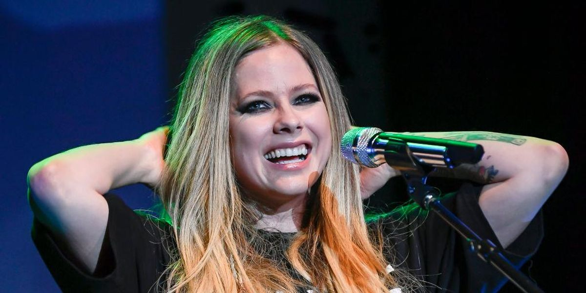 Avril Lavigne's First TikTok Features a Very Special Guest