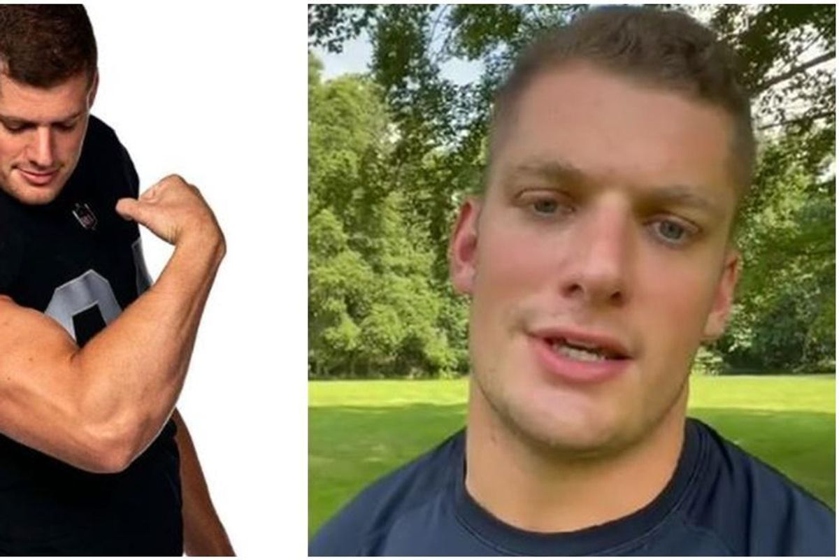 Raiders player Carl Nassib becomes first active NFL player to come out as gay