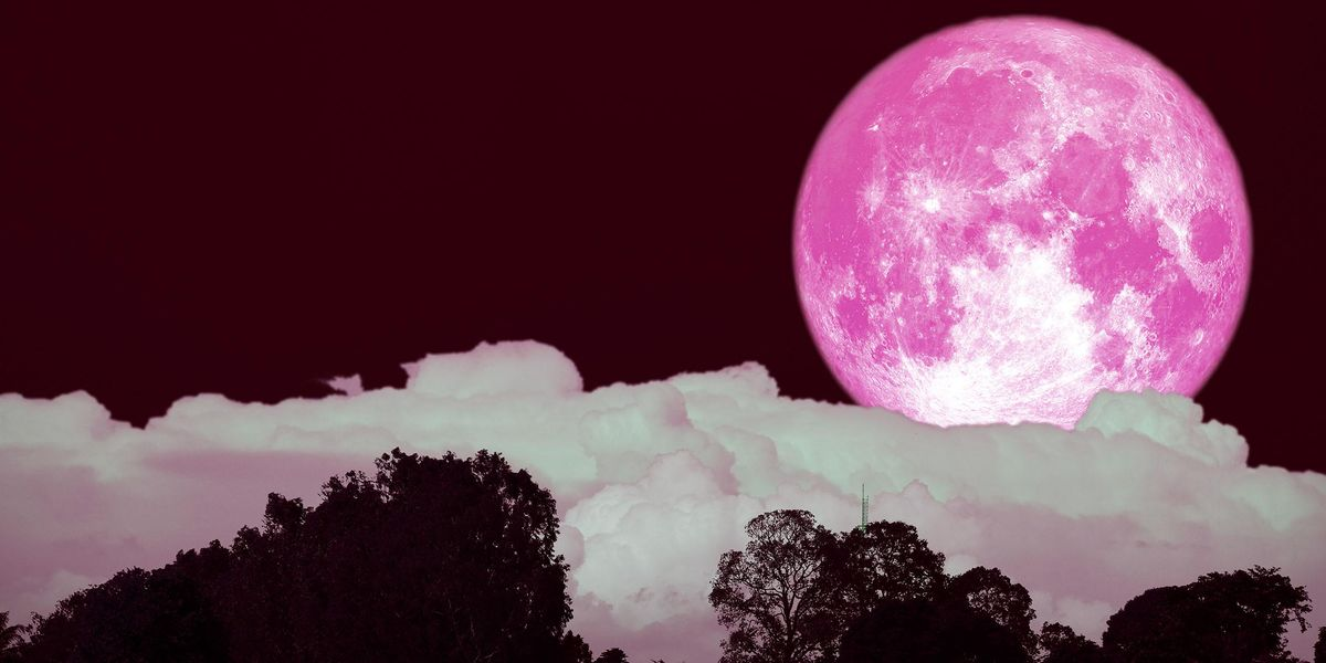 You'll Be Able To See the Strawberry Supermoon on Thursday