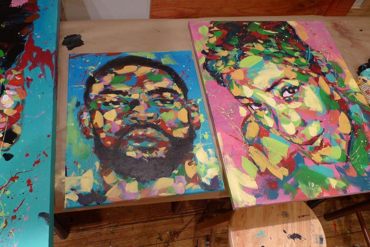 Meet Jon Moody, the Painter Beloved by Rappers, Lee Daniels and Pepsi
