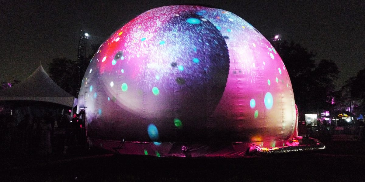How the Pepsi Art Dome at Voodoo Fest Announced the Future of Art